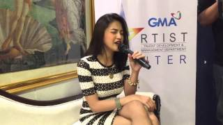 Julie Anne San Jose Samples Her Single 'Forever'