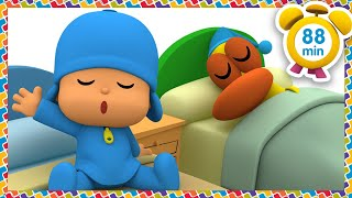 🛌  POCOYO in ENGLISH - We like to sleep! [88 minutes] | Full Episodes | VIDEOS and CARTOONS for KIDS