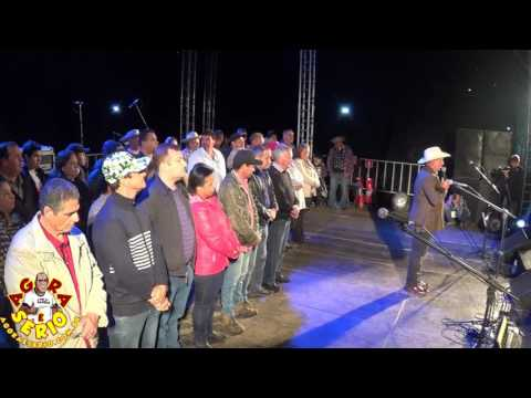 Prefeito Ayres Scorsatto faz o Encerramento da Festa Junina 2017 de Juquitiba prometendo fazer o Rodeio de Juquitiba 2017