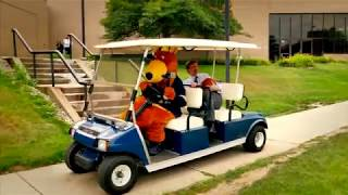 Drive-By Dunk Challenge at The University of Akron