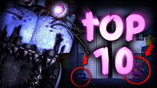 Top 10 Things You Missed In The FNAF 4 Trailer! || FNAF 4: The Final Chapter