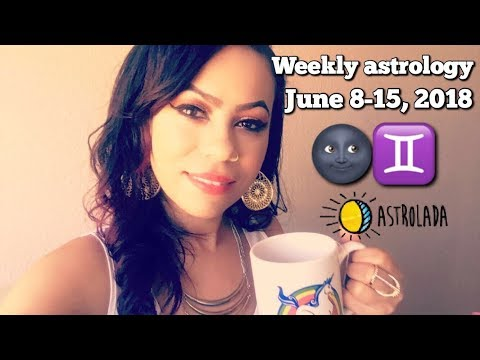 Weekly Horoscope for June 8th - 15th, 2018 & Celebrity Coffee Talk! | Kate Spade/Anthony Bourdain