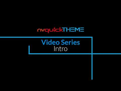 nvQuickTheme Video Series - Intro