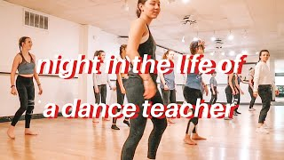Night In The Life Of A Dance Teacher