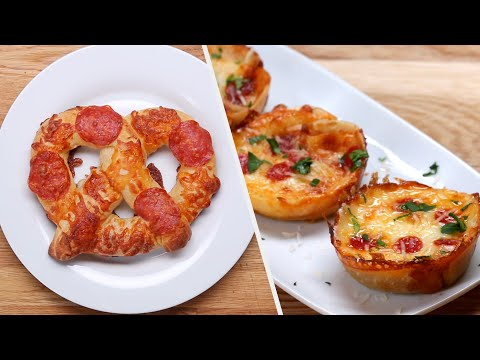 12 Appetizer Recipes For Pizza Lovers • Tasty