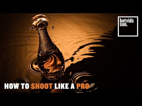 advertising photography tutorial how to shoot a perfume bottle like a professional