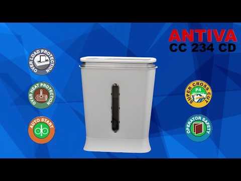 Antiva CC 234 CD Small Paper Shredder