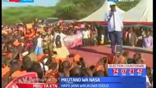 Raila Odinga awarudishia wakaazi wa Marigat-Baringo shukran kwa kumpigia kura kwa uchaguzi uliopita