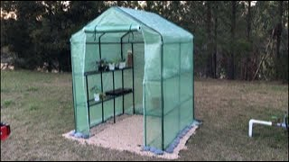 Amazon Put-together Greenhouse Unboxing, Assembly And Review