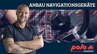 Montage von Navigationsgeräten am Motorrad