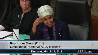 Rep. Ilhan Omar can't figure out how a worker could be paid less for non-performance