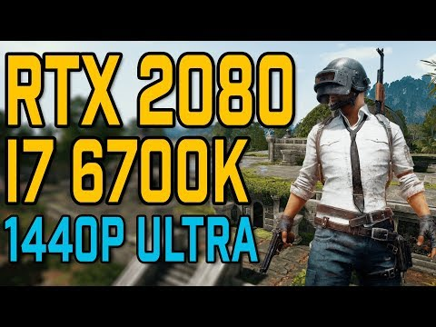 PlayerUnknown's Battlegrounds RTX 2070 OC | 1080p - 1440p | FRAME