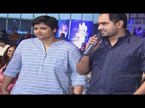 Nandini Reddy & Krish Hilarious Speech – Yevade Subramanyam Audio Launch Live – Nani