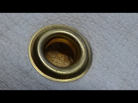 How to Install a Grommet