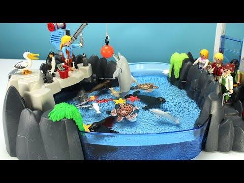 Playmobil Dolphin Aquarium Playset with Sea Animals - Fun Toys For Kids