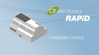 Product launch corporate animation for CP Electronics' RAPID Lighting Control System