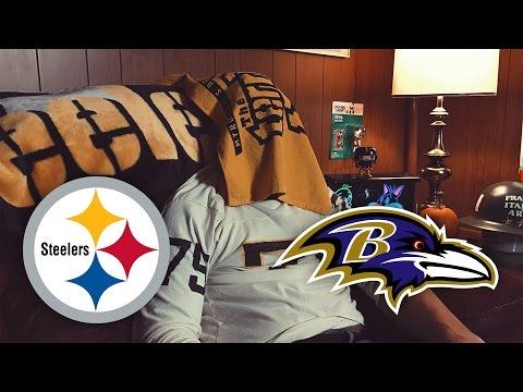 Dad Reacts to Steelers vs Ravens (Week 9)