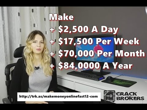 How To Earn Money From Home Online 2017 – Make $17,500 A Week !