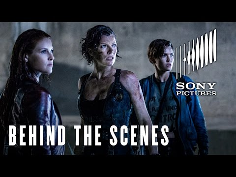 Resident Evil: The Final Chapter (Featurette 'The Mechanic')
