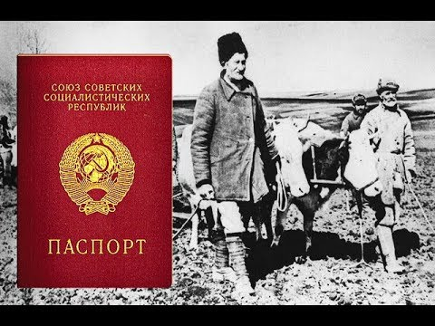 ПАСПОРТ СССРДА КИМЛАРГА БЕРИЛМАГАН