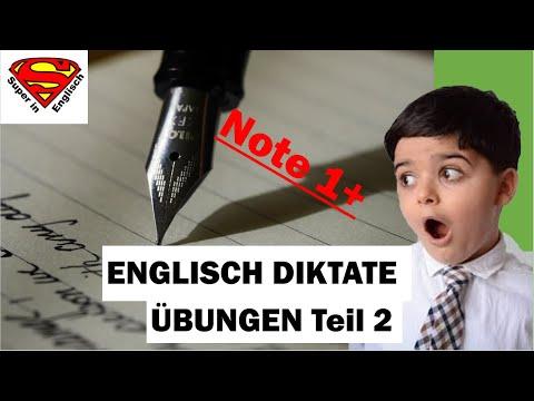 Super in Englisch - Englische Diktate üben 2