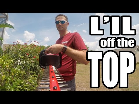 Milwaukee M18 Brushless Hedge Trimmer Review