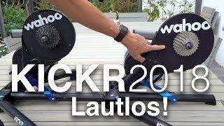 Erster Test Wahoo Kickr 2018 (Kickr 4) vs Kickr 2017: Wirklich Geräuschlos? Größeres Schwungrad!
