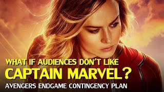 Marvel's Contingency plan in case of Captain Marvel failure
