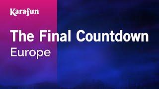 Karaoke The Final Countdown   Europe *