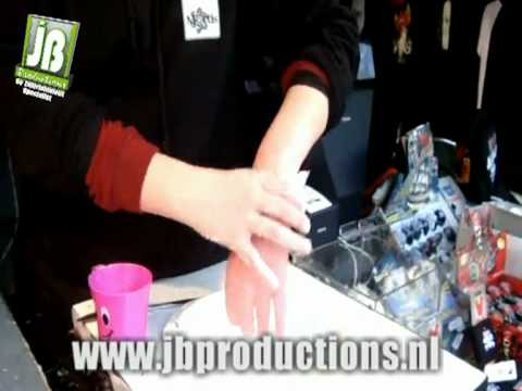 De Waxhands attractie | JB Productions