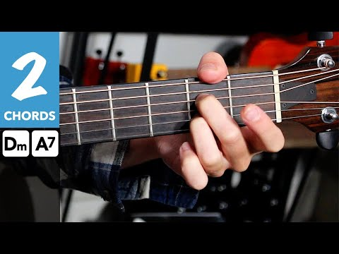 IMAGINE DRAGONS Natural Guitar lesson tutorial // TWO Chord song