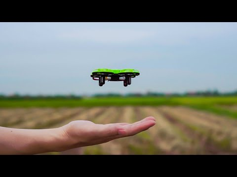 RC MINI ADVENTURES - Flying RC DRONE - Eachine E016H Mini - RC Drone Quadcopter