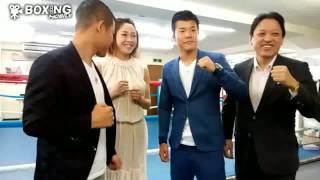 ボクシング亀田和毅協栄国内復帰2戦目発表会見2017/05/23