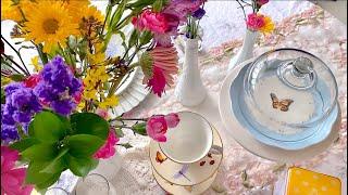 How To Host A Splendid Afternoon Tea #SafeAtHome Edition 💙 MissJustinaMarie