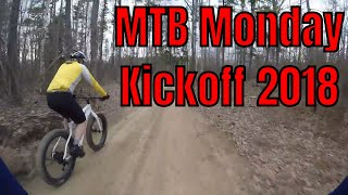 Snowkraft MTB Monday Kickoff 2018 - All Sorts of Conditions out on the Trails!