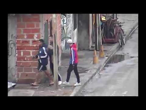 Captados por las cámaras de seguridad en intento de robo en Villa Sapito