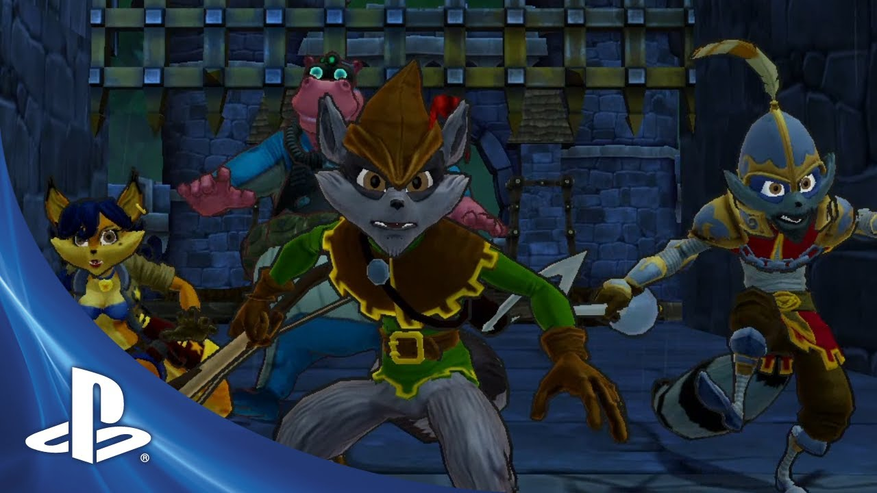 New Sly Cooper: Thieves in Time Costumes Showcased