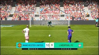 MANCHESTER UNITED vs LIVERPOOL FC | Penalty Shootout | New Kits 2018/2019 | PES 2018 Gameplay PC