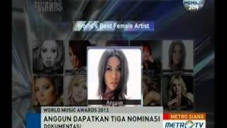 World Music Award Cantumkan Nama Anggun C Sasmi