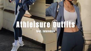 近期健身服分享 | 美式运动风穿搭灵感 | Athleisure Outfits Idea | Feat. Lululemon | Ninido