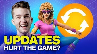 Are Fortnite's Frequent Updates Actually Hurting the Game? - Fortnite Show (Highlight)