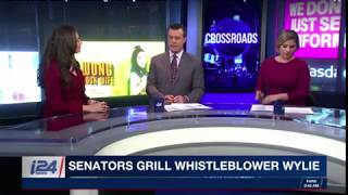 i24News: Cambridge Analytica Whistleblower Testifies