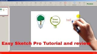 Easy Sketch Pro tutorial and review 2017