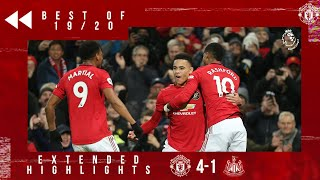 Best of 19/20 | United 4-1 Newcastle | Martial, Greenwood & Rashford strike on Boxing Day!
