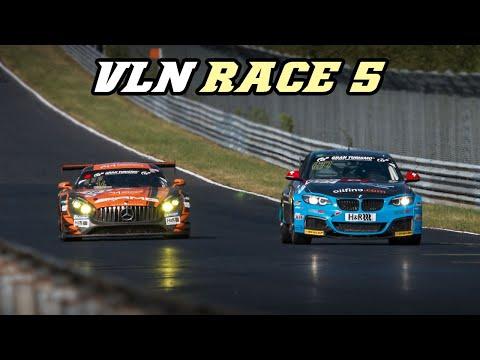AMG GT3, BRZ, RCF, M2 comp., M4 GT4, X-bow, Huracan,  VLN race 5 2019