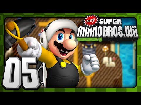 Newer Super Mario Bros  Wii - 4-Player - World 3 (1/2