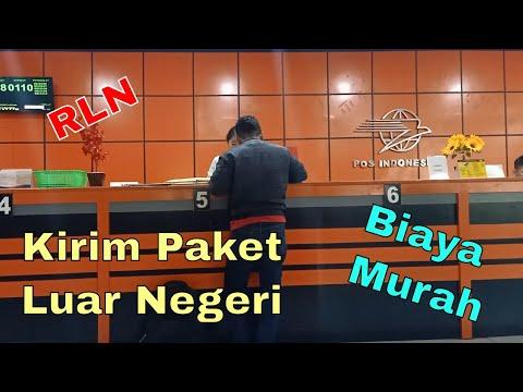 Mengirim Paket ke Luar Negeri via Pos Indonesia   Pos Tercatat Internasional   RLN Murah