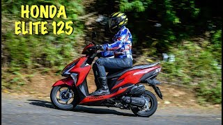 Honda Elite 125 Primeiras Impressões
