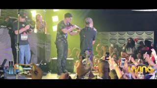 Flow cabron & Hace mucho tiempo - Arcangel (( en vivo Living night club cali ))