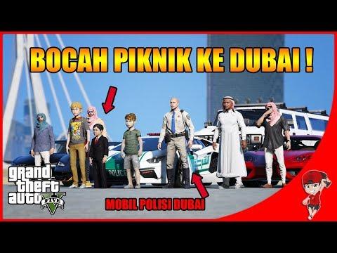 GTA V MOD (56) - BOCAH SULTAN PIKNIK KE DUBAI !!